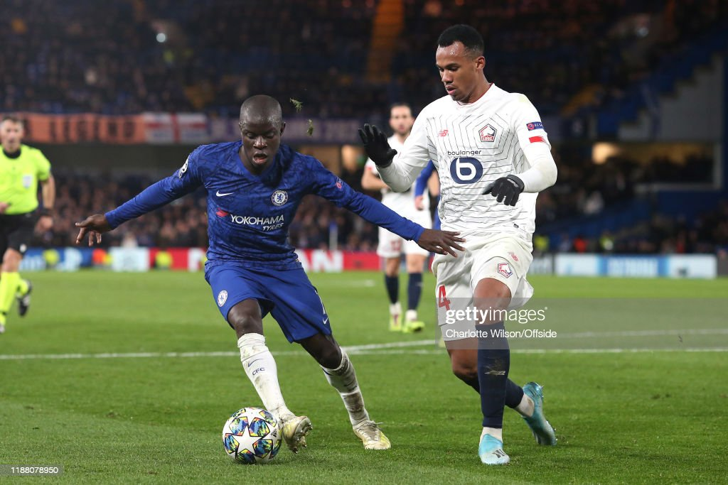 Chelsea FC v Lille OSC: Group H - UEFA Champions League : News Photo