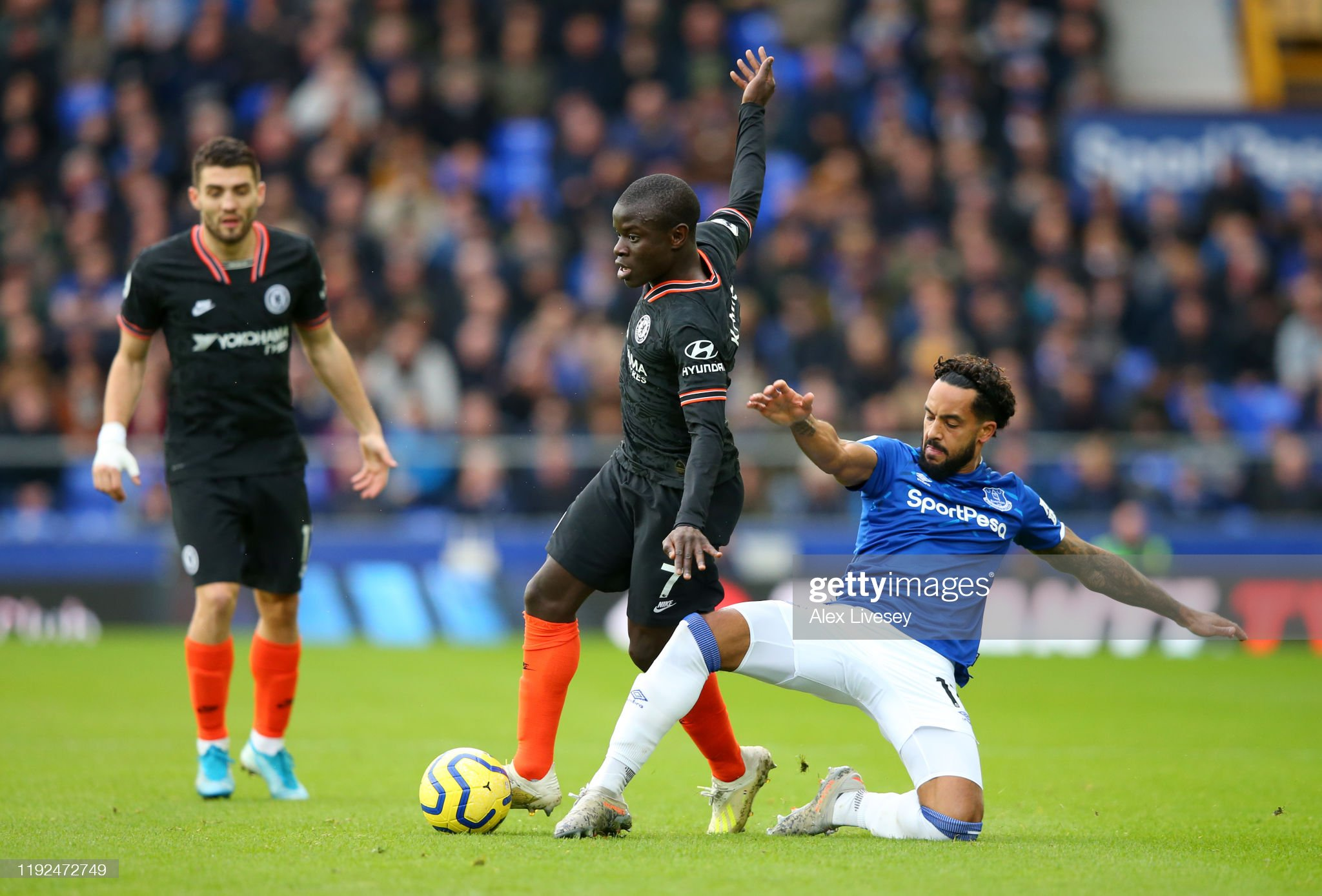 Everton FC v Chelsea FC - Premier League : News Photo