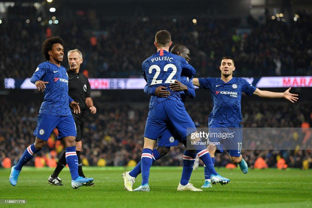 Manchester City v Chelsea FC - Premier League : ニュース写真