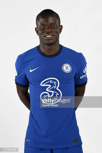 Golo Kante of Chelsea during a Chelsea Media Day at Chelsea Training Ground on September 11, 2020 in Cobham, England.