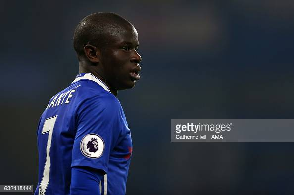 N'golo Kante Of Chelsea During The Premier League Match