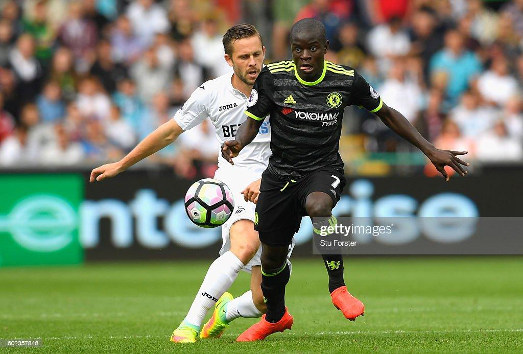 Swansea City v Chelsea - Premier League : Foto di attualità