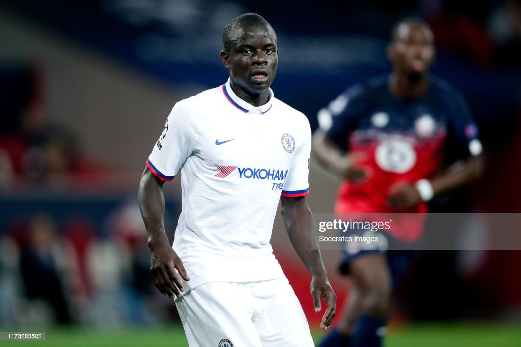 Lille v Chelsea - UEFA Champions League : News Photo