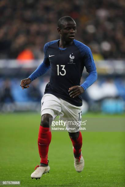 Golo Kante of France during the International Friendly match between France and Colombia at Stade de France on March 23 2018 in Paris France