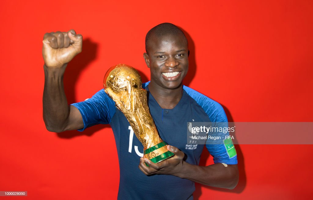 World Cup Champions France Portrait Session