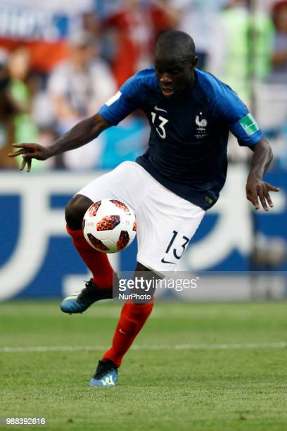 N'Golo Kante of France team during the 2018 FIFA World Cup Russia Round of 16 match between France and Argentina at Kazan Arena on June 30 2018 in...