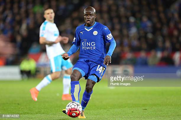 Golo Kante of Leicester City in action during the Barclays Premier League match between Leicester City and Newcastle United at the King Power Stadium...