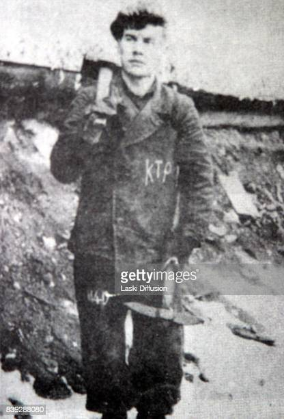 S Golovko a prisoner of the Norilsk Gulag participant of the rising in the camp in 1953 Norilsk Russia 1950s
