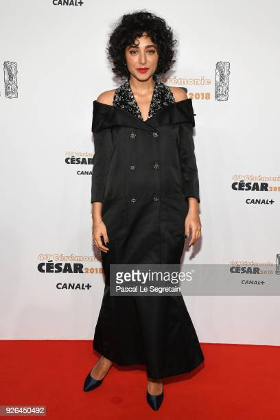 Golshifteh Farahani arrives at the Cesar Film Awards 2018 at Salle Pleyel on March 2 2018 in Paris France