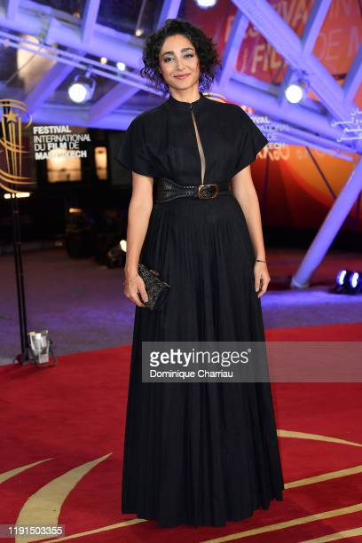 Golshifteh Farahani attends the 18th Marrakech International Film Festival Day Four on Decemeber 02 2019 in Marrakech Morocco