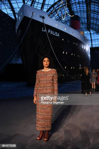 Golshifteh Farahani attends the Chanel Cruise 2018/2019 Collection at Le Grand Palais on May 3 2018 in Paris France