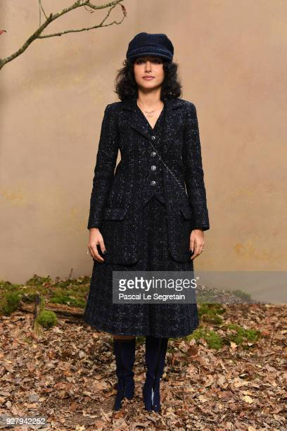 Golshifteh Farahani attends the Chanel show as part of the Paris Fashion Week Womenswear Fall/Winter 2018/2019 at Le Grand Palais on March 6 2018 in...
