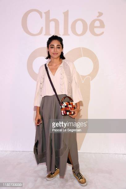Golshifteh Farahani attends the Chloe show as part of the Paris Fashion Week Womenswear Fall/Winter 2019/2020 on February 28, 2019 in Paris, France.