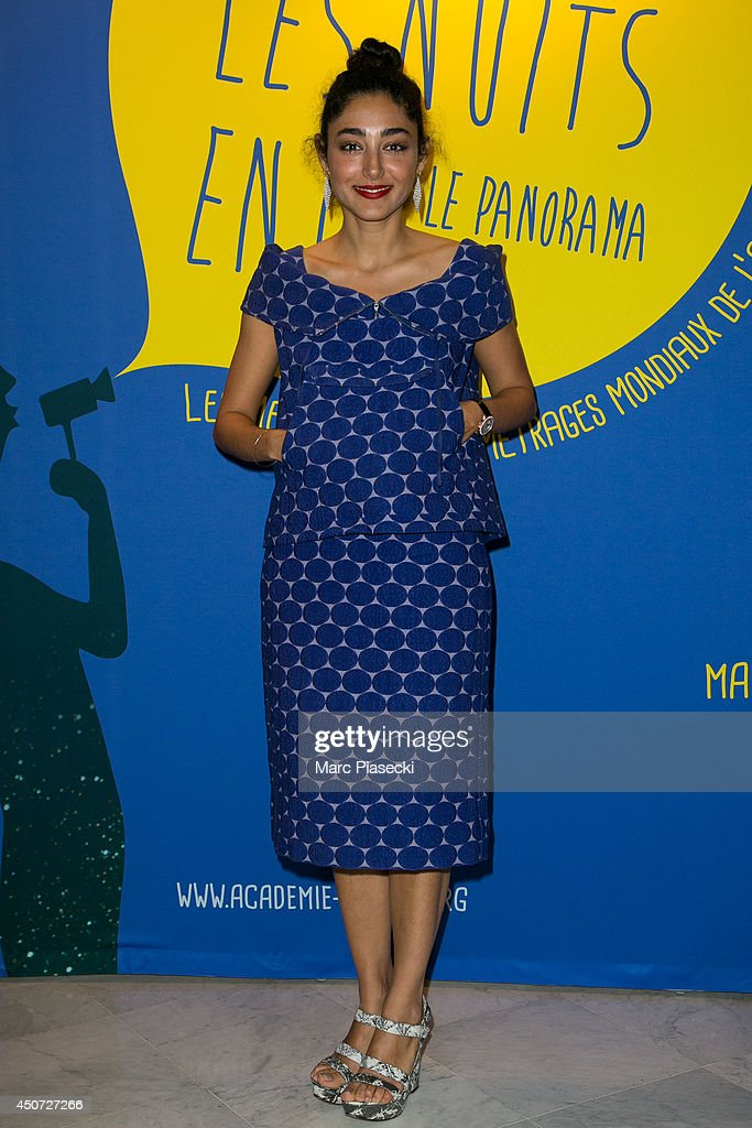 Golshifteh Farahani attends the 'Panorama des Nuits en or' gala dinner UNESCO on June 16, 2014 in Paris, France.