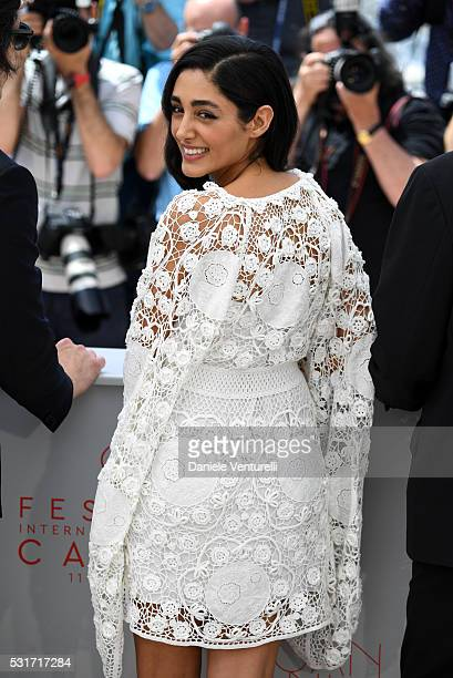 Golshifteh Farahani attends the Paterson photocall during the 69th annual Cannes Film Festival at the Palais des Festivals on May 16 2016 in Cannes...