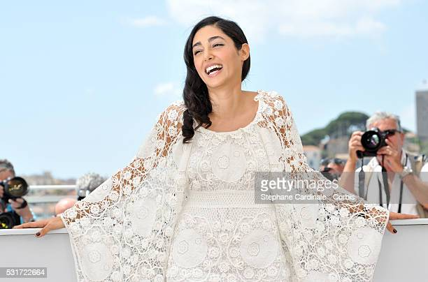 """Golshifteh Farahani attends the """"Paterson"""" photocall during the 69th annual Cannes Film Festival at the Palais des Festivals on May 16, 2016 in..."""