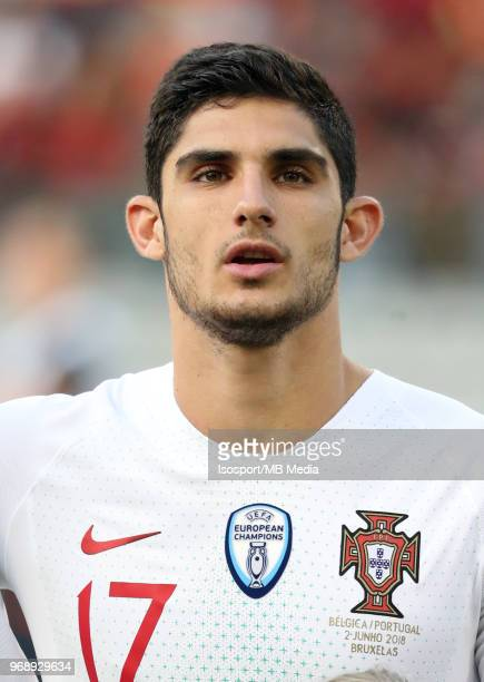 Gonçalo GUEDES pictured during a friendly game between Belgium and Portugal as part of preparations for the 2018 FIFA World Cup in Russia on June 2...