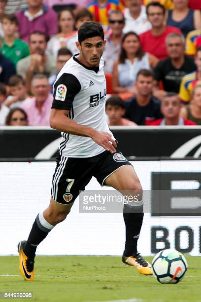 07 Gonalo Manuel Ganchinho Guedes of Valencia CF during spanish La Liga match between Valencia CF vs Atletico de Madrid at Mestalla Stadium on...