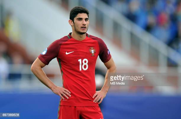 Goncalo Guedes during the UEFA European Under21 match between Portugal and Serbia at Arena Bydgoszcz on June 17 2017 in Bydgoszcz Poland