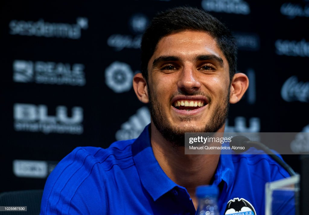 Valencia CF Unveils New Signing Gonzalo Guedes