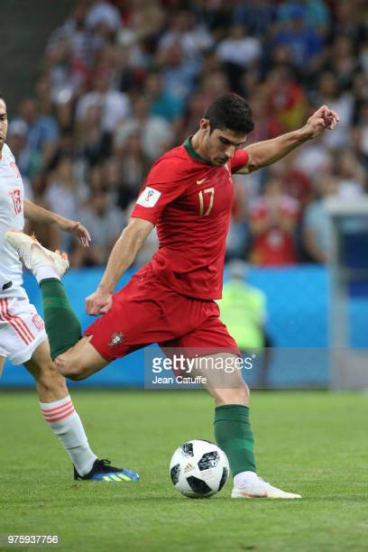 Goncalo Guedes of Portugal during the 2018 FIFA World Cup Russia group B match between Portugal and Spain at Fisht Stadium on June 15 2018 in Sochi...