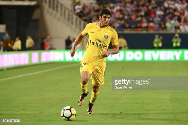 Goncalo Guedes of PSG during the International Champions Cup match between Paris Saint Germain and Tottenham Hotspur on July 22 2017 in Orlando...