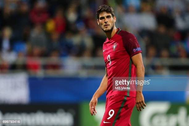 Goncalo Paciencia during the UEFA European Under21 match between Portugal and Spain on June 20 2017 in Gdynia Poland