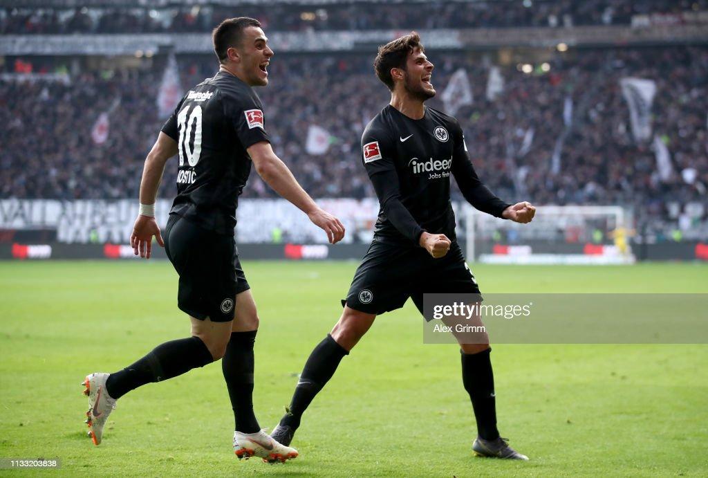 DEU: Eintracht Frankfurt v TSG 1899 Hoffenheim - Bundesliga