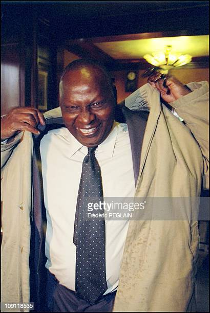 Goncourt And Renaudot Awards Ceremony On October 30Th 2000 In Paris France Ahmadou Kourouma