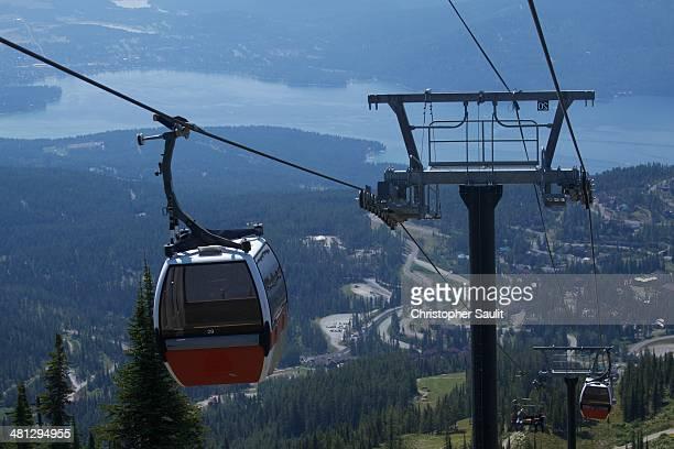 CONTENT] Gondola at Big Mountain ski resort in Whitefish Montana