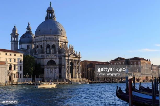 Gondola in venice canal