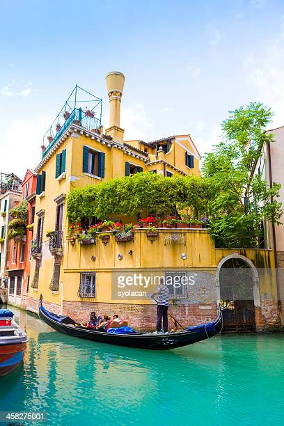 gondola in venice - syolacan stock pictures, royalty-free photos & images