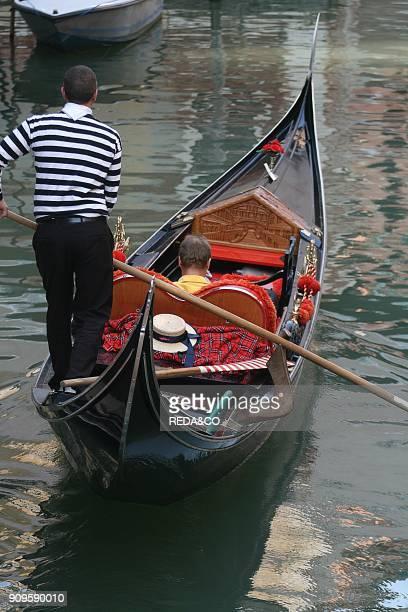 Gondola Venice Veneto Italy