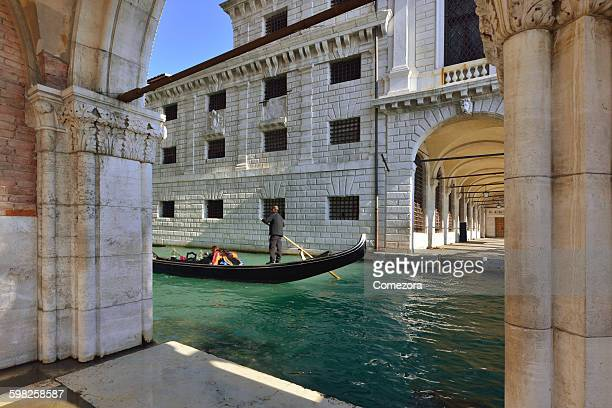 Gondolas and Grand Canal, Venice