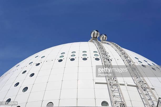 Gondolas em Estocolmo globo arena