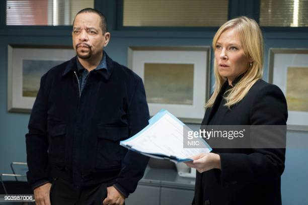 UNIT 'Gone Baby Gone' Episode 1909 Pictured Ice T as Odafin 'Fin' Tutuola Kelli Giddish as Detective Amanda Rollins