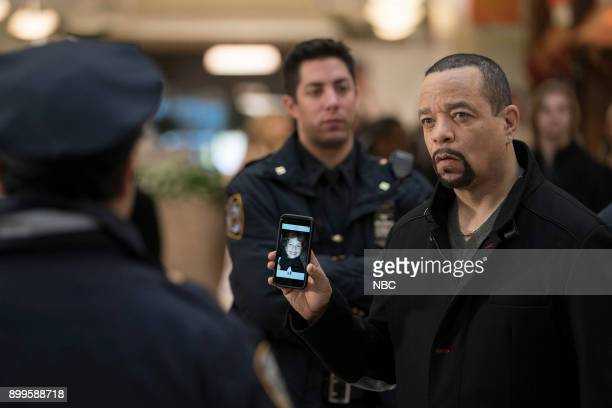 UNIT 'Gone Baby Gone' Episode 1910 Pictured Ice T as Detective Odafin 'Fin' Tutuola
