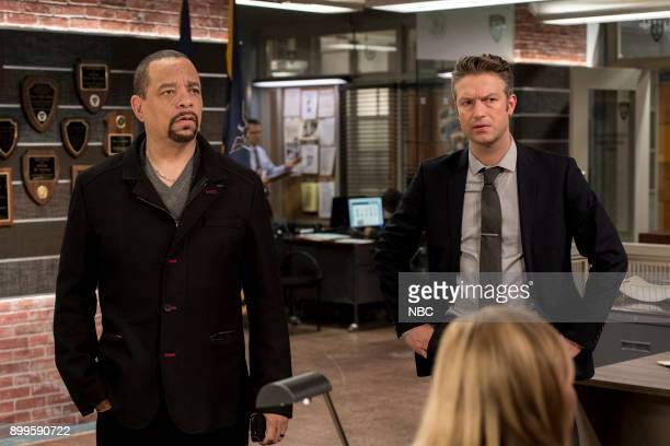 UNIT 'Gone Baby Gone' Episode 1910 Pictured Ice T as Odafin 'Fin' Tutuola Peter Scanavino as Dominick 'Sonny' Carisi