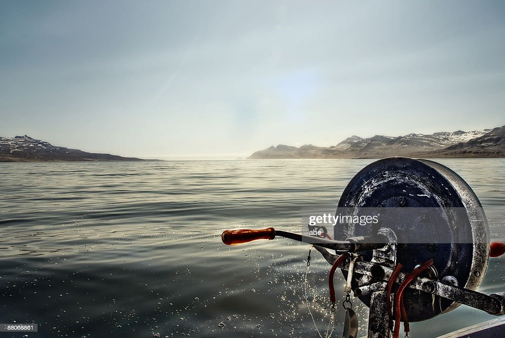 Gone fishing : Stock Photo
