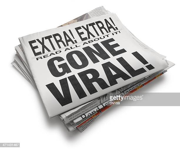 gone viral - spreading stock pictures, royalty-free photos & images