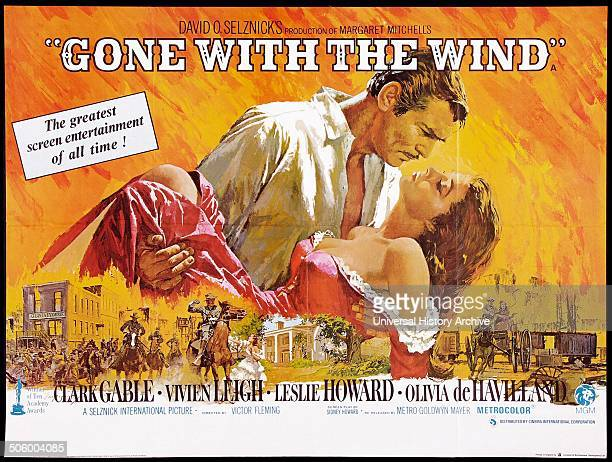 'Gone with the Wind' a 1939 American epic historic romance film adapted from Margaret Mitchelle's Pulitzerwinning novel starring Clark Gable and...