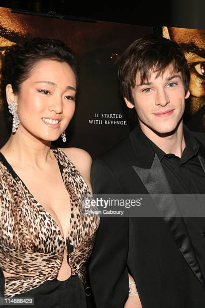 """Gong Li and Gaspard Ulliel during Metro-Goldwyn-Mayer Pictures' and The Weinstein Company's Premiere of """"Hannibal Rising"""" - Inside Arrivals at AMC..."""