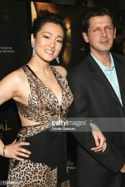"""Gong Li and Peter Webber during Metro-Goldwyn-Mayer Pictures' and The Weinstein Company's Premiere of """"Hannibal Rising"""" - Inside Arrivals at AMC..."""