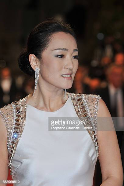 Gong Li at the 'Lost River' premiere during the 67th Annual Cannes Film Festival