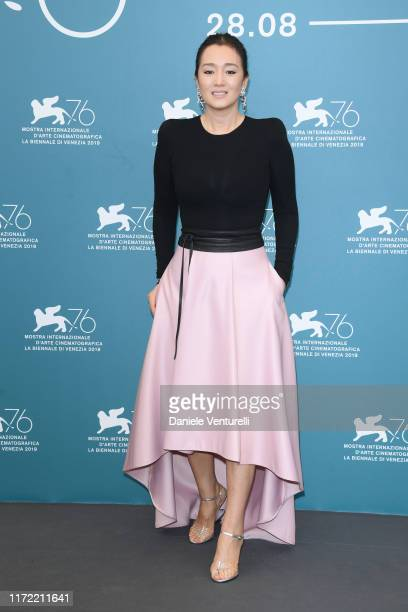 Gong Li attends Lan Xin Da Ju Yuan photocall during the 76th Venice Film Festival on September 04 2019 in Venice Italy