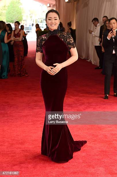 Gong Li attends the 'China Through The Looking Glass' Costume Institute Benefit Gala at the Metropolitan Museum of Art on May 4 2015 in New York City