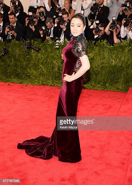 "Gong Li attends the ""China: Through The Looking Glass"" Costume Institute Benefit Gala at Metropolitan Museum of Art on May 4, 2015 in New York City."