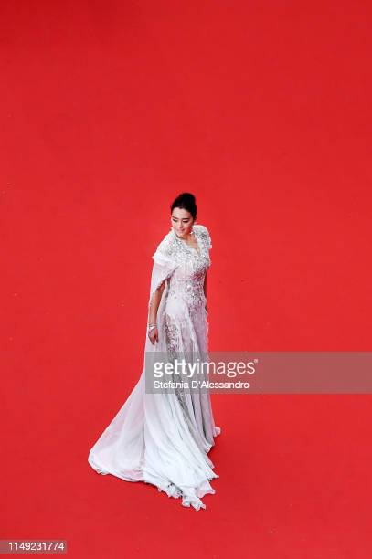Gong Li attends the opening ceremony and screening of The Dead Don't Die during the 72nd annual Cannes Film Festival on May 14 2019 in Cannes France