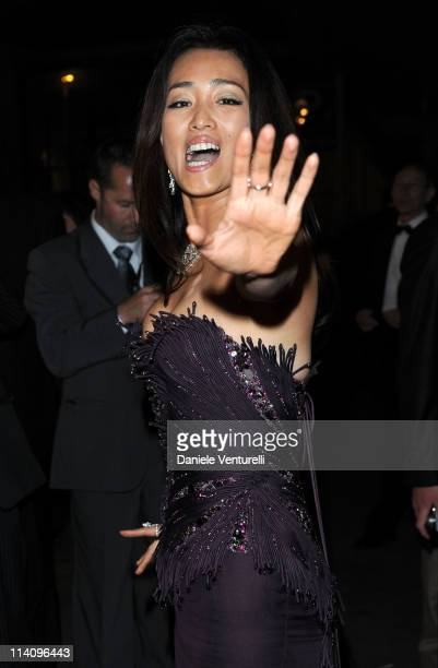 Gong Li attends the Opening Night Dinner during the 64th Cannes Film Festival at the Palais des Festivals on May 11 2011 in Cannes France