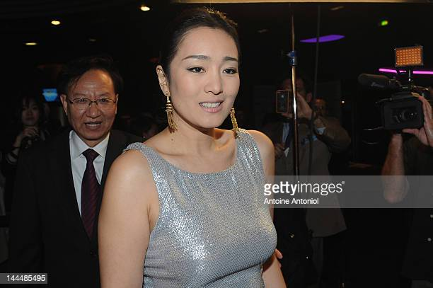 Gong Li attends the opening of the Chinese Film Festival at Cinema Gaumont Marignan on May 14 2012 in Paris France